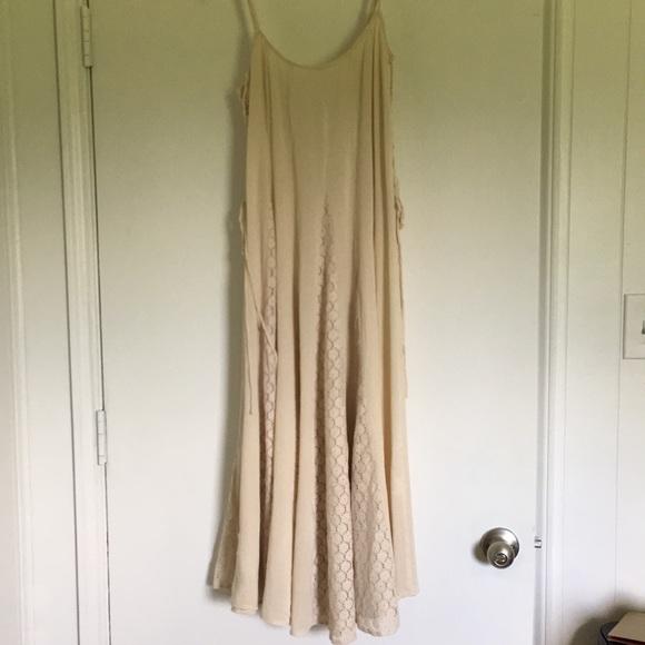 Dresses & Skirts - Full Circle Boho festival lace dress lace up